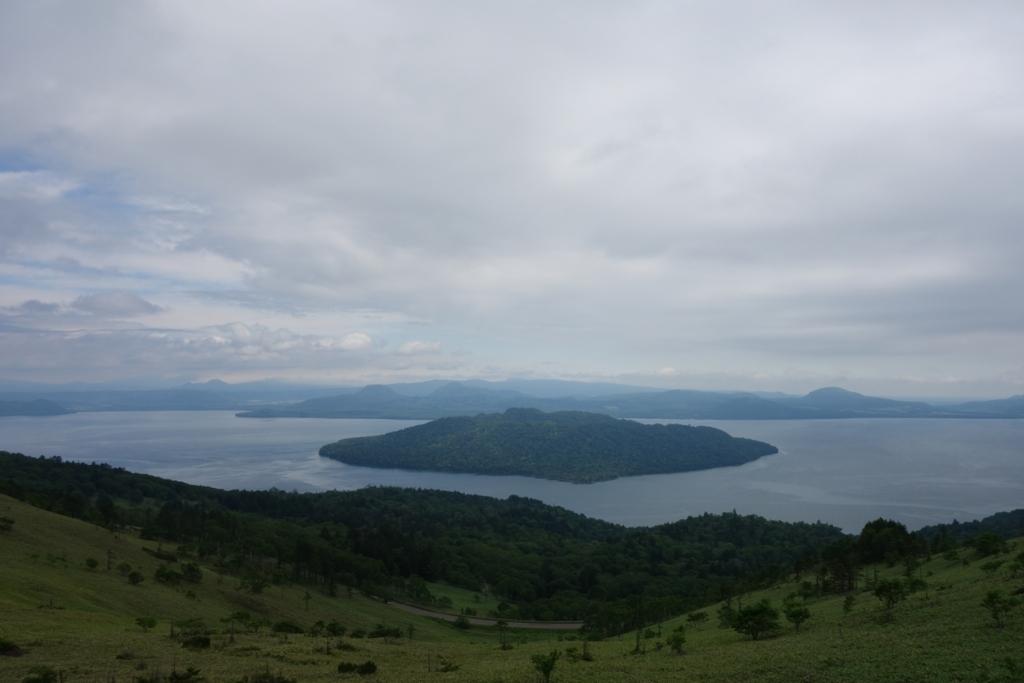 美幌峠から望む屈斜路湖