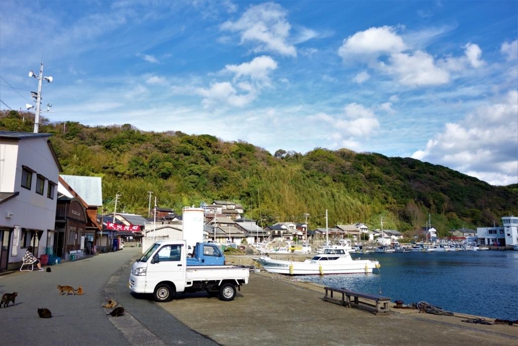 相島港付近
