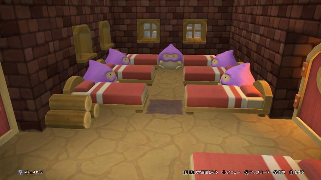 農家の寝床