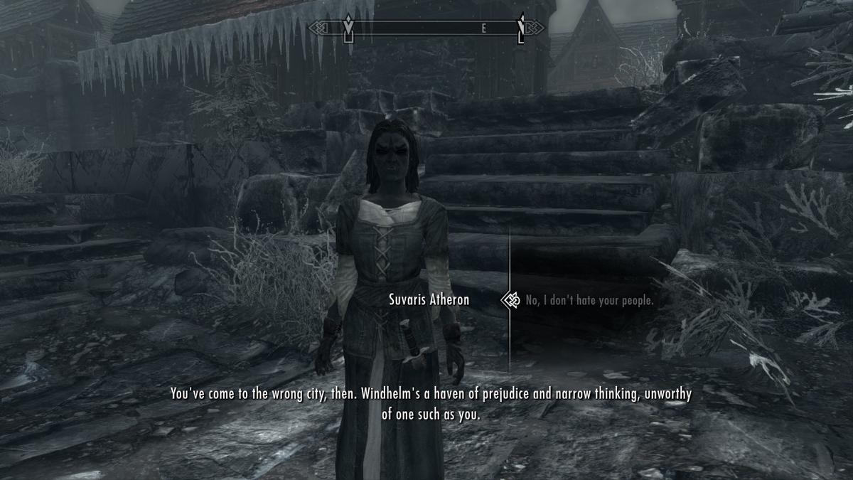 ダンマーのおばさんのことは労わってあげよう