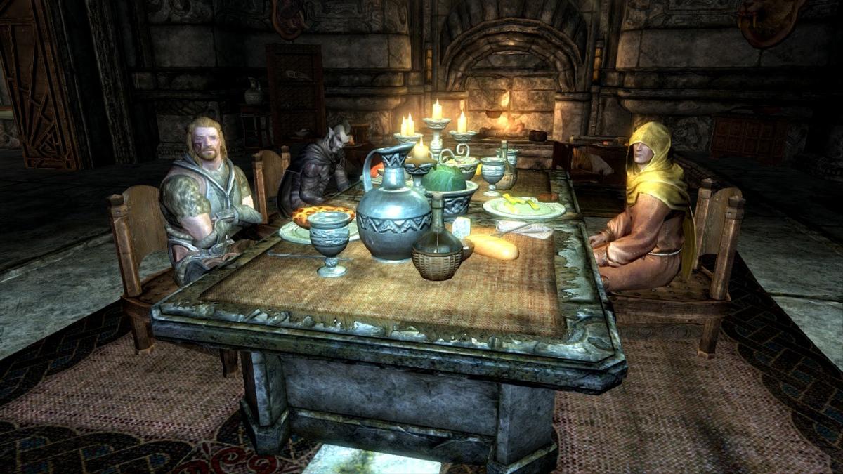 賑やかな食卓1