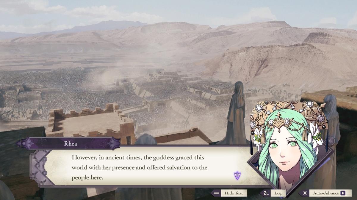レッド・キャニオンはかつてセイロス教の祀る女神が降り立った地
