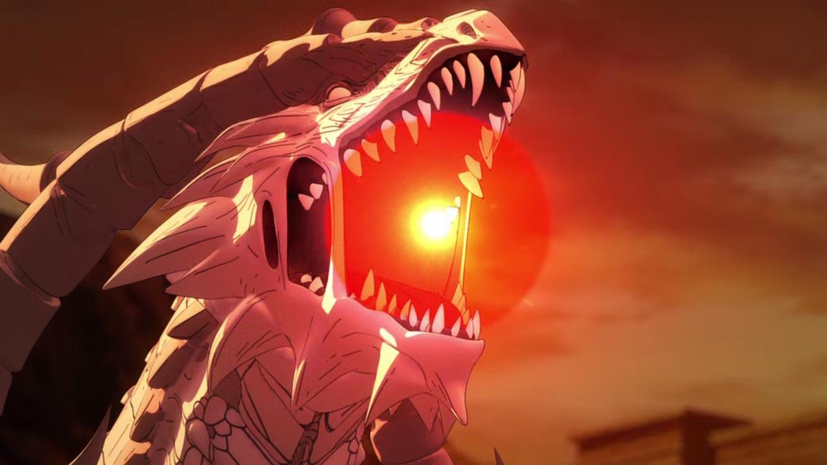 レアがドラゴンに変身