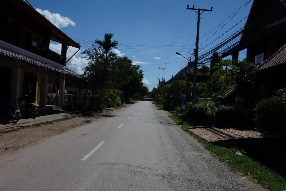閑静な通り