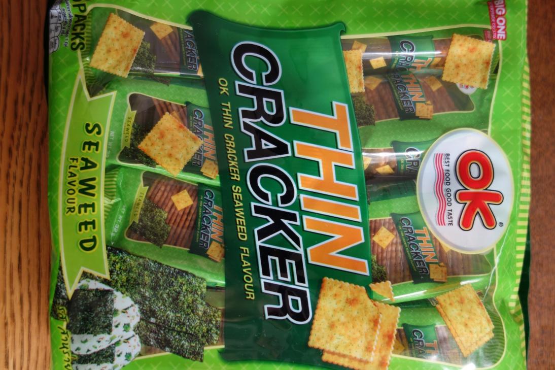 タイから輸入されたお菓子