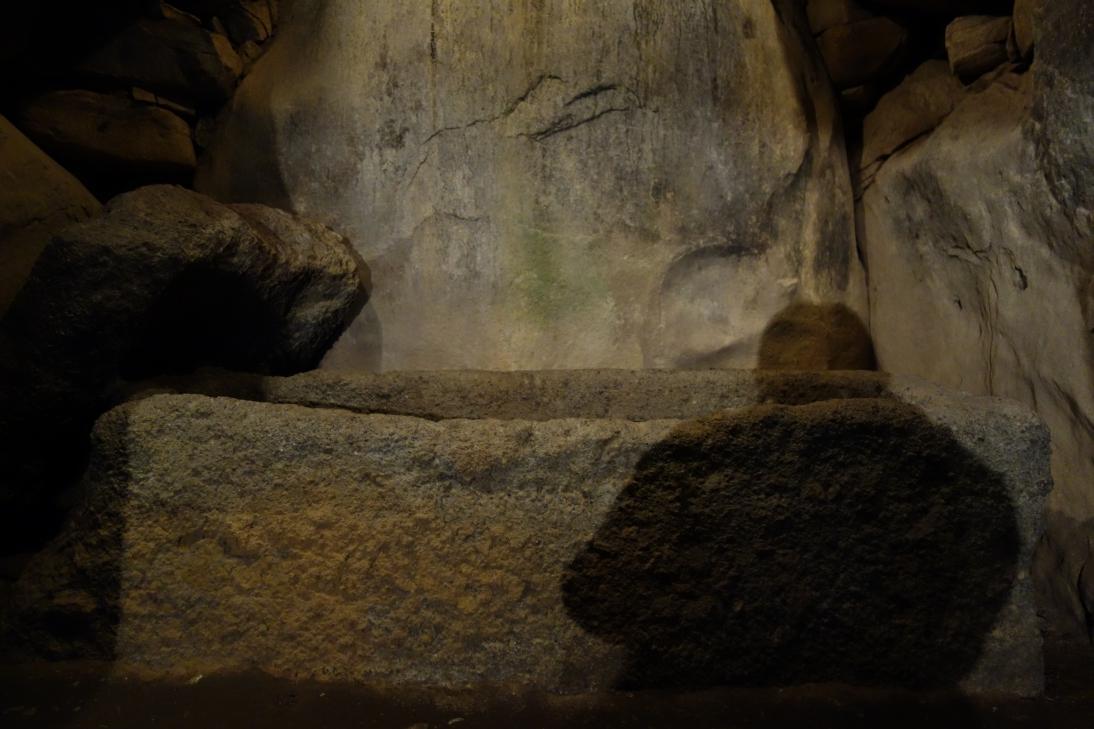掛木古墳・石棺
