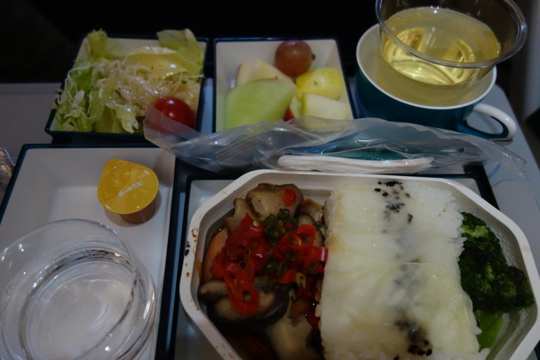 スリランカ航空の機内食2