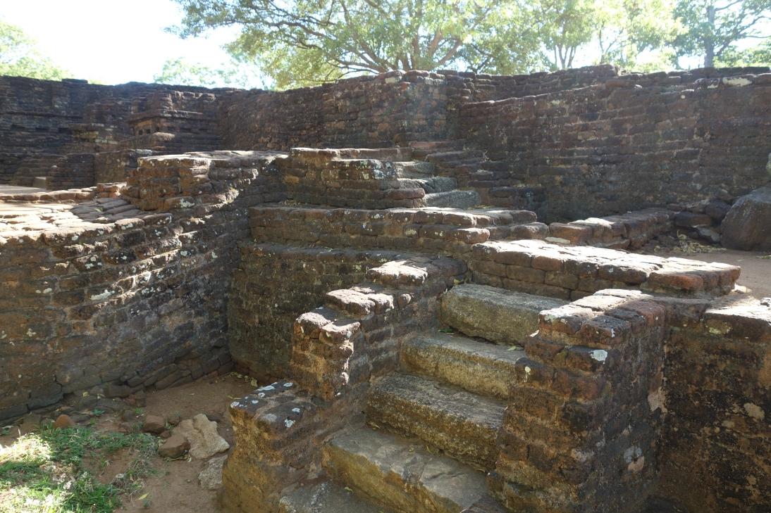 シーギリヤの都跡地2