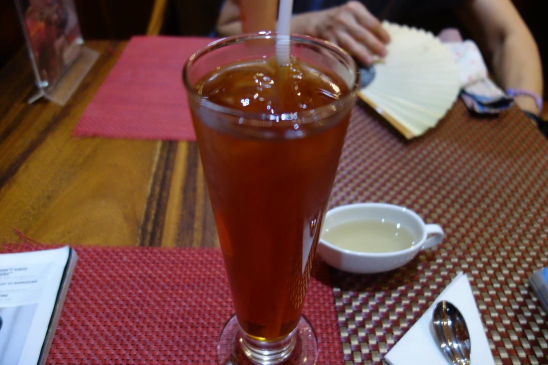 冷たい紅茶(ストレート!)1