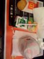 朝マックのメガマフィンセット期間限定390円@新宿新南口マクドナルド