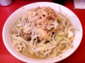 [food] ラーメン豚入り(ヤサイニンニクアブラ)@ラーメン二郎 ひばりヶ丘