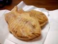 [food] 薄皮たい焼き 小倉/クリーム@たい夢