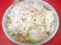 [food] 小ラーメン豚入り ニンニク少しヤサイアブラ増し@ラーメン二郎 桜台