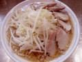 [food] ラーメン+チャーシュー 普通@らーめん大 大久保店