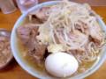 [food] 豚増しラーメン+ニンニクちょい増しアブラ増し@ラーメン富士丸 板橋