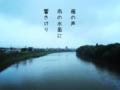 [iphoneography][photoikku][fxcamera][jhaiku][俳句]雁の声 雨の水面に 響きけり [山乃鯨]
