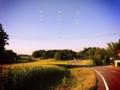 [iphoneography][photoikku][jhaiku][fxcamera][俳句]はぐれ雲 消えた知られず 秋日和 [山乃鯨]