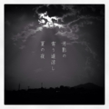[photoikku][iphoneography][instagram][jhaiku][haiku][poem][俳句]月影の 寄り道涼し 夏の夜 [山乃鯨]