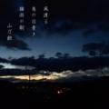[slowshutter][photoikku][jhaiku][haiku][poem][poetry][verse][俳句][季語][写真俳句]風渡る 鳥の目青き 梅雨の朝 [山乃鯨]