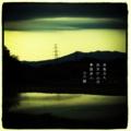 [photoikku][jhaiku][haiku][俳句][季語][フォト俳句][秋][fall][autumn][写真俳句]夜風立ち 雨月の山河 夢路迷ふ [山乃鯨]