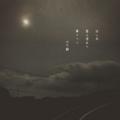[photoikku][jhaiku][haiku][poem][写真俳句][フォト俳句][秋][fall][autumn][俳句]淡し月 雲上澄めり 夢うつつ [山乃鯨]