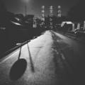 [photoikku][jhaiku][haiku][poem][冬][winter][俳句][季語][写真俳句][フォト俳句]冬の坂 虚空にひとつ 冴ゆる陽の [山乃鯨]