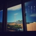 [photoikku][jhaiku][haiku][poem][春][spring][俳句][季語][写真俳句][フォト俳句]雲ふわり 雪解け山土 匂いけり [山乃鯨]