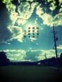 [photoikku][jhaiku][fxcamera][poem][俳句][季語][写真俳句][秋][autumn][フォト俳句]野分過ぐ 熱帯気流 深呼吸す [山乃鯨]