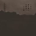 [photoikku][jhaiku][haiku][autumn][poetry][季語][写真俳句][snapseed][photohaiku][フォト俳句]川溢(あふ)る 闇 魚(うお)憂ひ 夜霧満つ [山乃鯨]