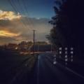 [photoikku][jhaiku][冬][winter][poetry][季語][写真俳句][snapseed][photohaiku][フォト俳句]雨晴るる 炭色道照り 頰(ほほ)寒し [山乃鯨]