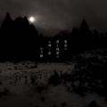 [photoikku][jhaiku][春][spring][poetry][季語][写真俳句][snapseed][photohaiku][フォト俳句]雪国の 浸(し)む残雪の 山啼(な)く夜[山乃鯨]