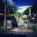[photoikku][jhaiku][夏][summer][poetry][季語][写真俳句][snapseed][photohaiku][フォト俳句]薄暑光 微々翳(かげ)り雨 上がる朝[山乃鯨]