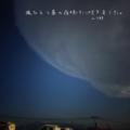 [jhaiku][春][haiku][写真俳句][poetry][季語][photohaiku][micropoetry][spring][フォト俳句]風ひとつ春の夜明けに吹きました。[山乃鯨]