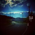 [jhaiku][夏][haiku][写真俳句][poetry][季語][photohaiku][micropoetry][summer][フォト俳句]南風 光磨きて 影流(なが)る[山乃鯨]