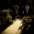 [jhaiku][夏][haiku][写真俳句][poetry][季語][photohaiku][micropoetry][summer][フォト俳句]火星墜(お)つ ががんぼ揺する 夕(ゆふ)まなこ[山乃鯨]