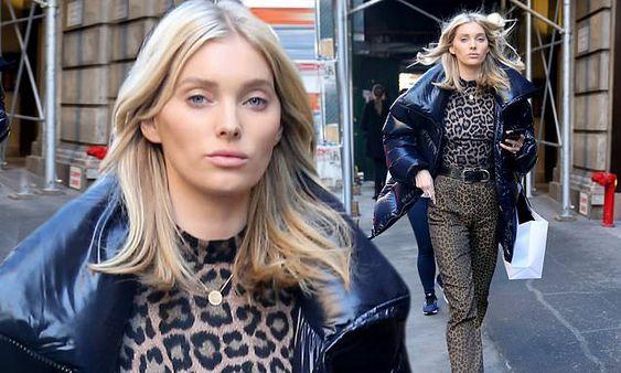 エルザ・ホスクの最新ファッション