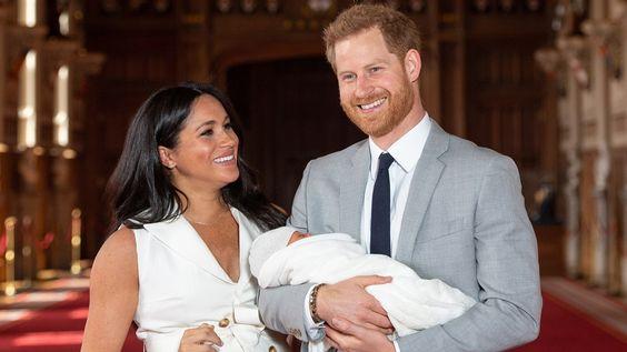 メーガン妃&ハリー王子、第1子をお披露目