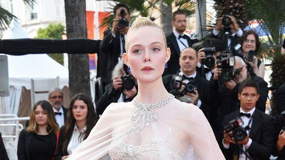 カンヌ国際映画祭2019のエル・ファニング(Elle Fanning)