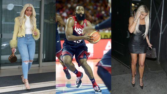 ジョーディン・ウッズがクロエ・カーダシアンの元カレでNBA選手のジェームズ・ハーデンとパーティー