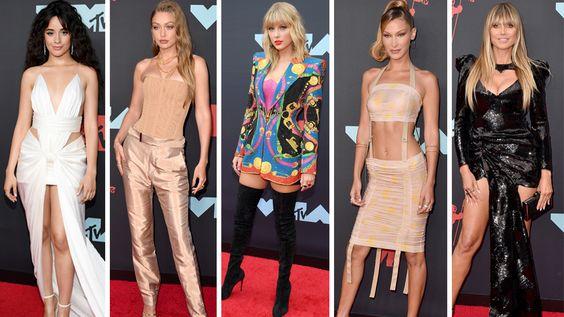 MTVビデオ・ミュージック・アワード(VMA)のドレススタイル