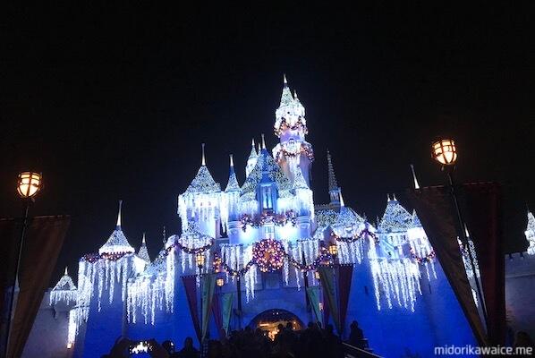 カリフォルニア ディズニー キャッスル お城