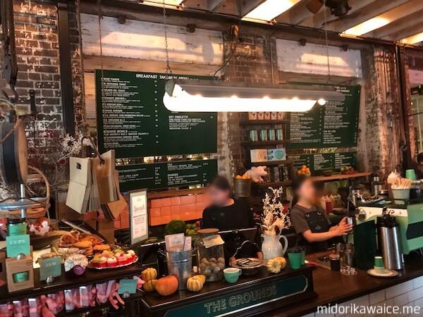 THE GROUNDS OF ALEXANDRIA シドニーカフェ シドニー人気カフェ カフェアラジン