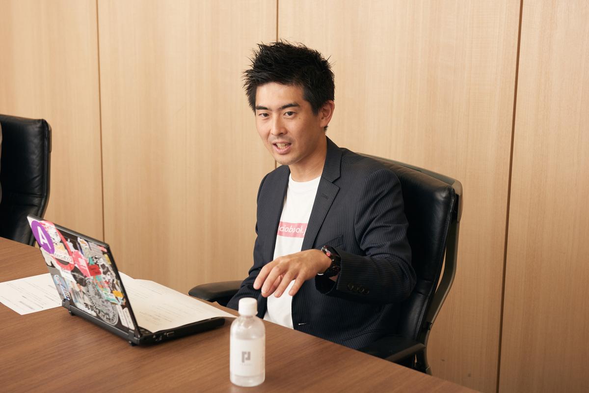 株式会社オトバンク 代表取締役社長 久保田裕也