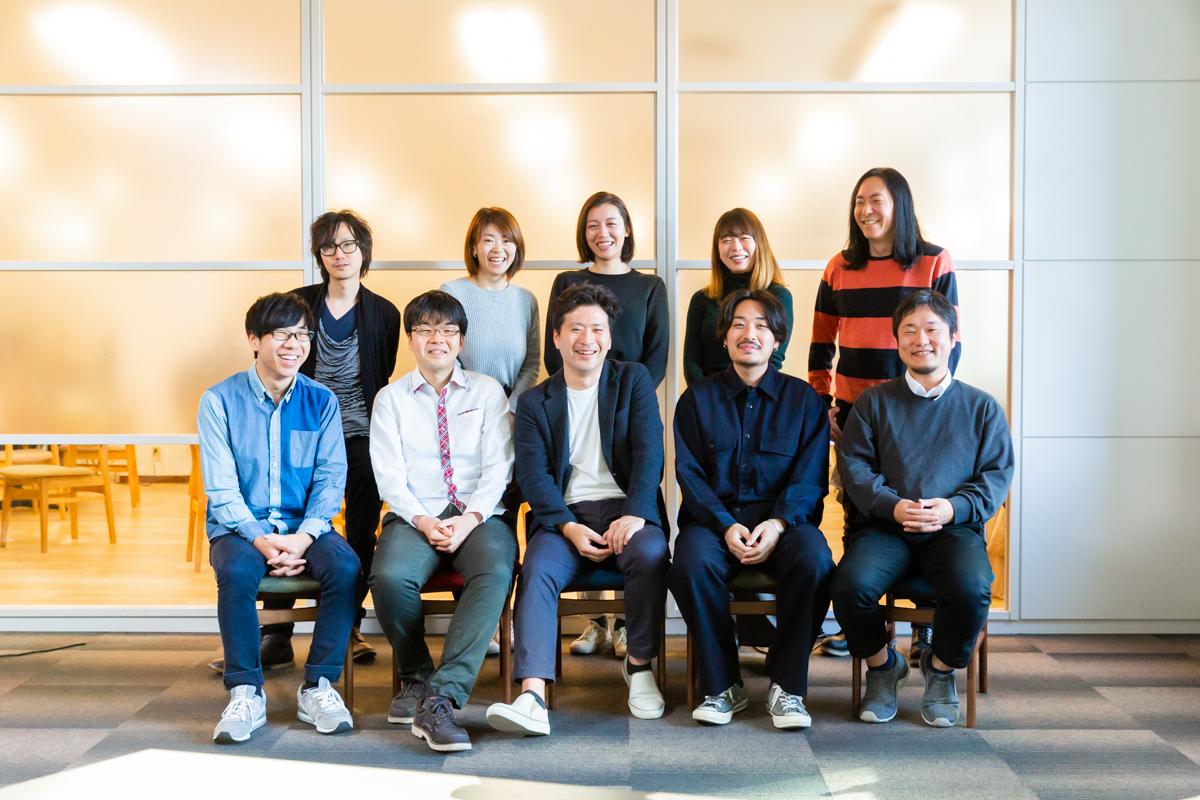 ▲「マイポテ」プロジェクトチーム  のメンバー