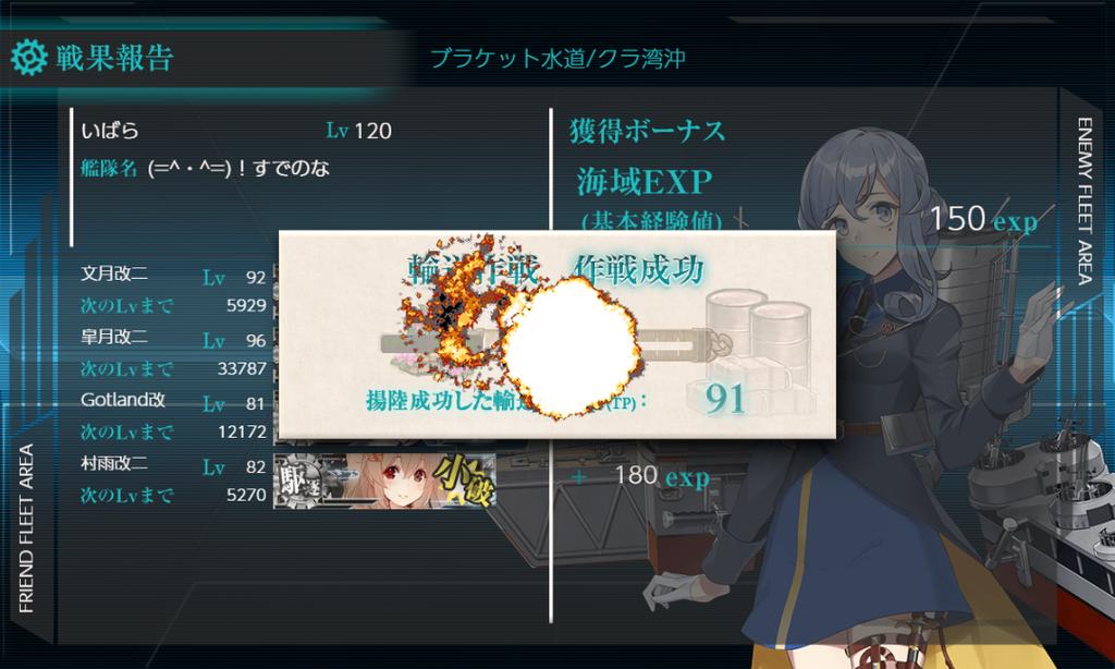 19冬イベE1甲輸送 作戦成功