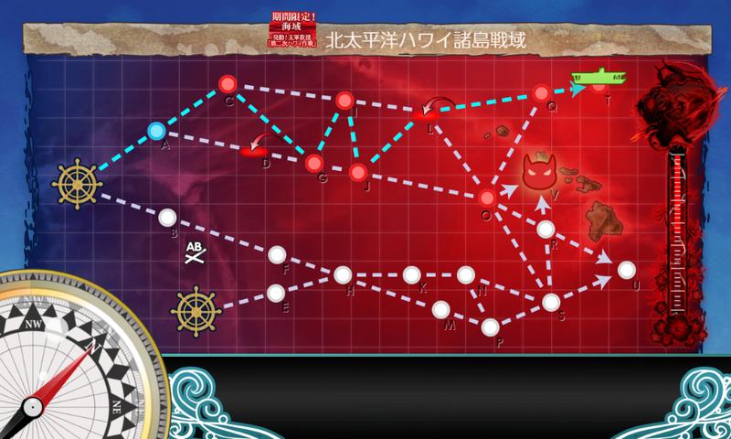 艦これ/19春イベE-4甲/Tマス