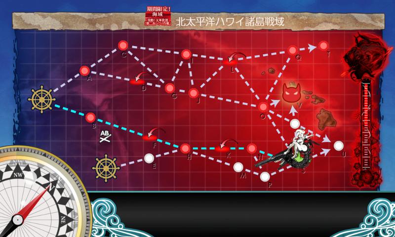 艦これ/19春イベE-4甲/Sマス