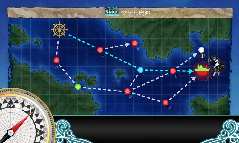 艦これ/節分2020/4-1海域マップ