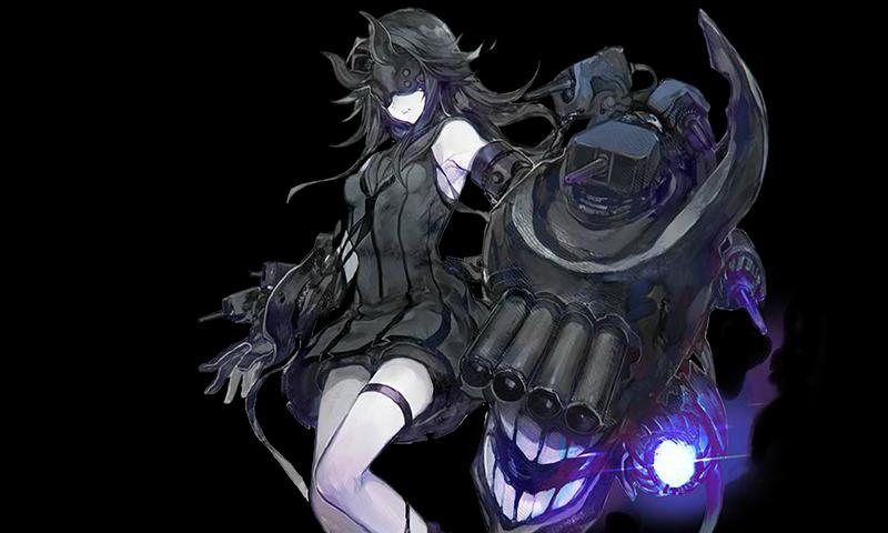 艦隊これくしょん/20梅雨夏イベ/E5-1甲ボス/軽巡棲姫II/グラフィック