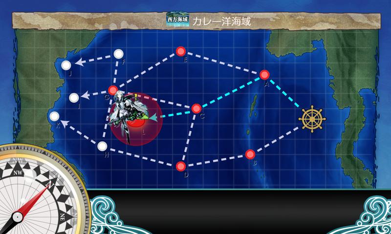 艦隊これくしょん/令和三年節分任務群/4-2海域マップ